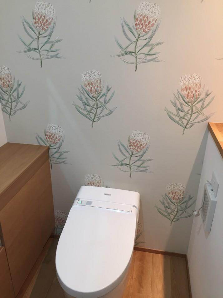 1階お手洗い施工